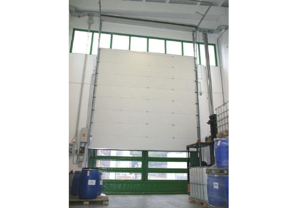 industrial sectional overhead door fidelity