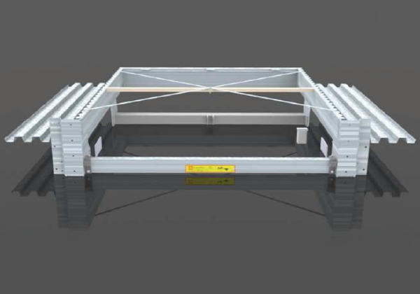campisa prefabricated pits for dock levelers