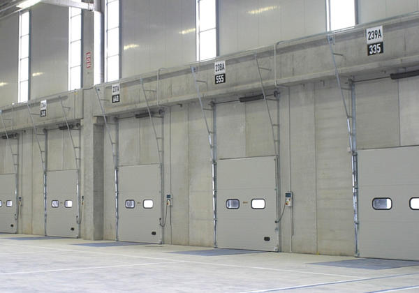 insulated sectional doors campisadoor
