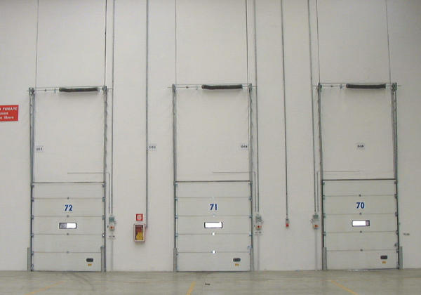 campisadoor industrial sectional warehouse doors
