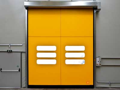 evolution self repairing rapid doors
