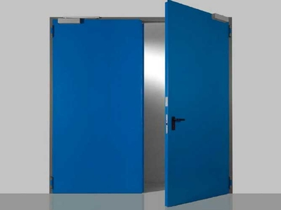 double leaves fire rated door campisa