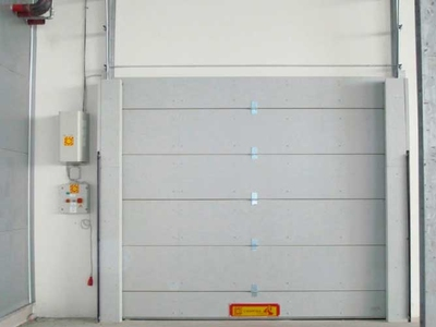 fire retardant sectional door rei 120