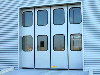 industrial folding door campisa