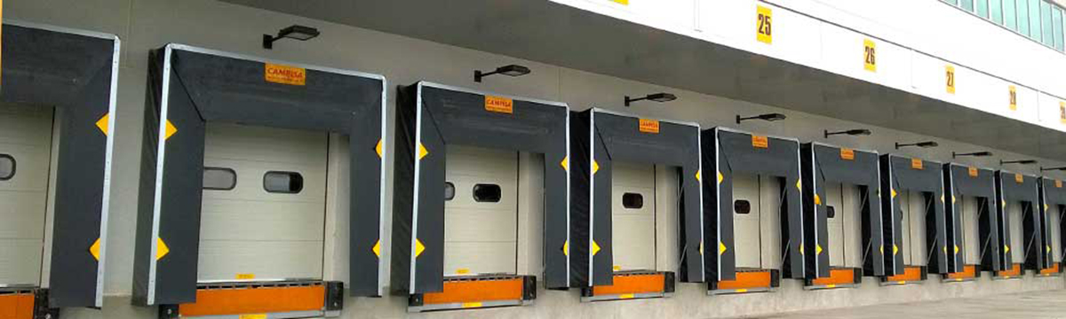 loading bays for ripening rooms
