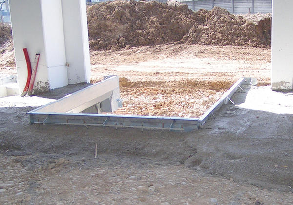 prefabricated pit for laoding dock