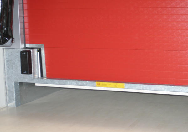recessed loading bay detail
