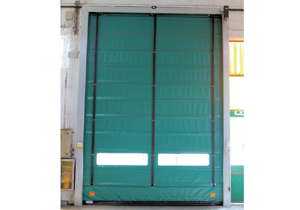 high speed fold up door smart pocket