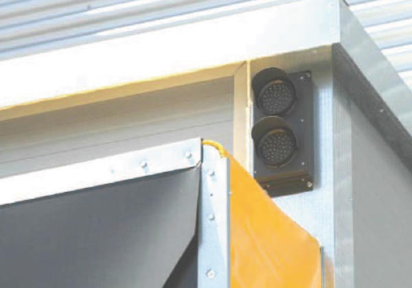 traffic light logic loading bays lights