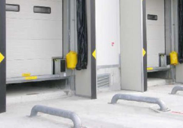 vehicle wheels guides for loading bays campisa